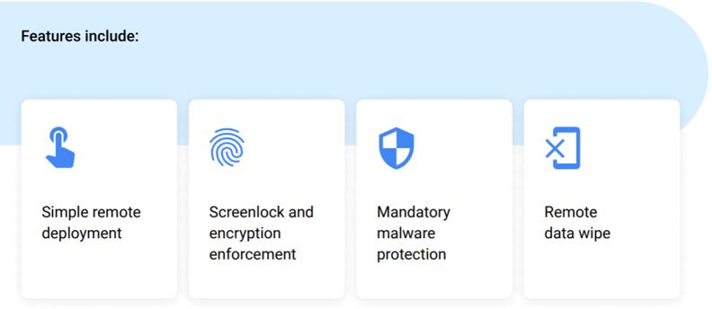 Android Enterprise Essentials Screenshot