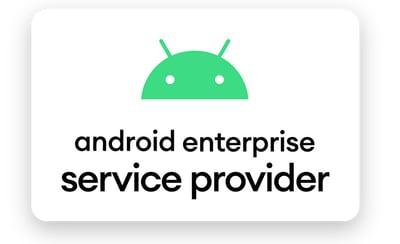 Android Enterprise Service Provider logo
