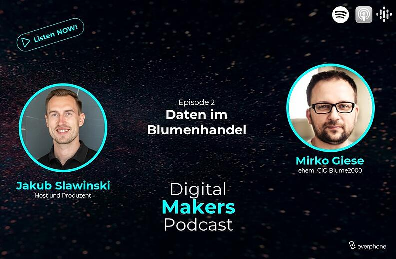 Digital Makers Blumenhandel Digitalisierung