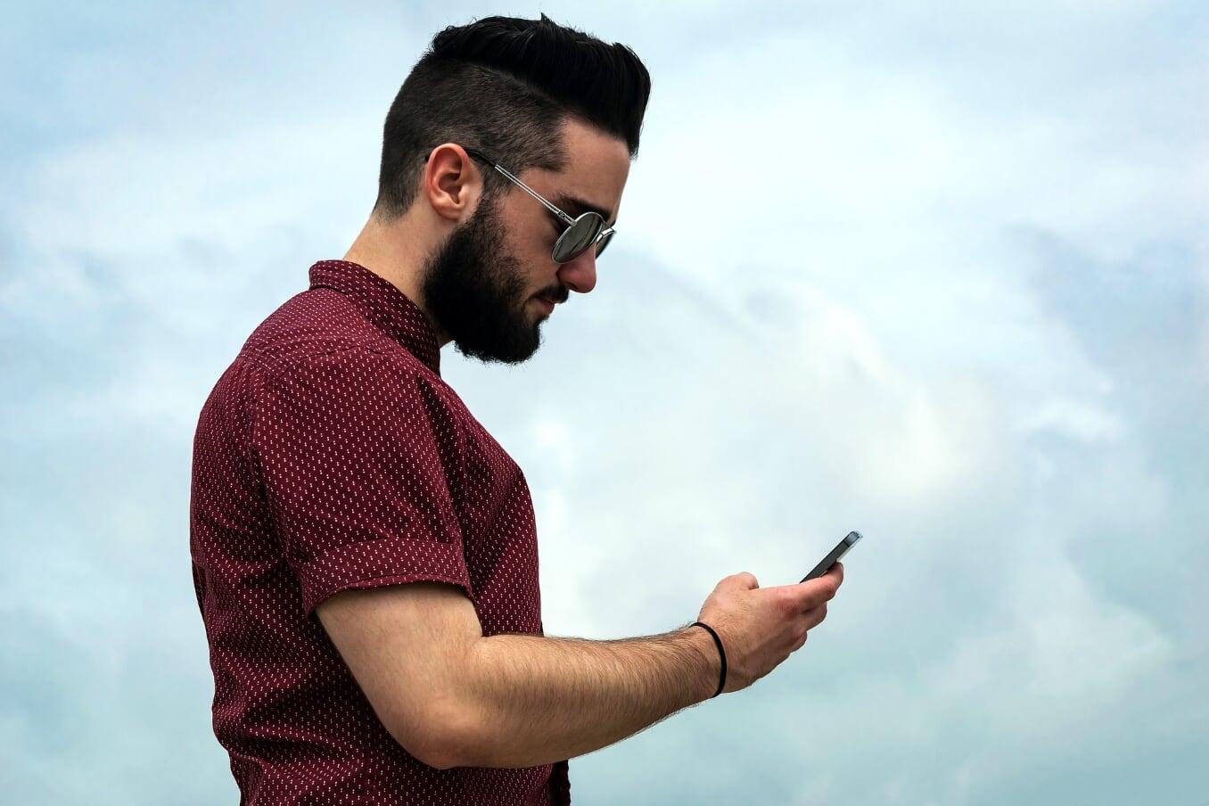 Smartphone Mietmodell Geschäftshandys