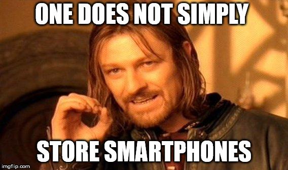 Smartphones Absatzvorgaben