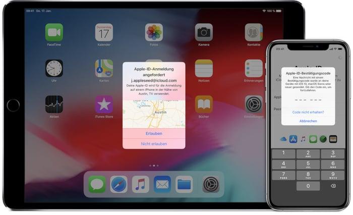 iOS-Sicherheitseinstellungen_05-Zwei-Faktor-Authentisierung
