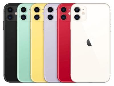 iPhone 11 Details Farben