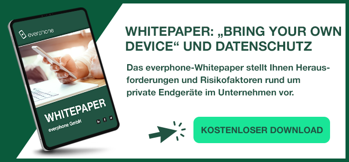 Bring Your Own Device DSGVO Download Whitepaper
