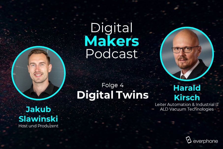 Podcast: Digital Twins mit Harald Kirsch von ALD Vacuum Technologies