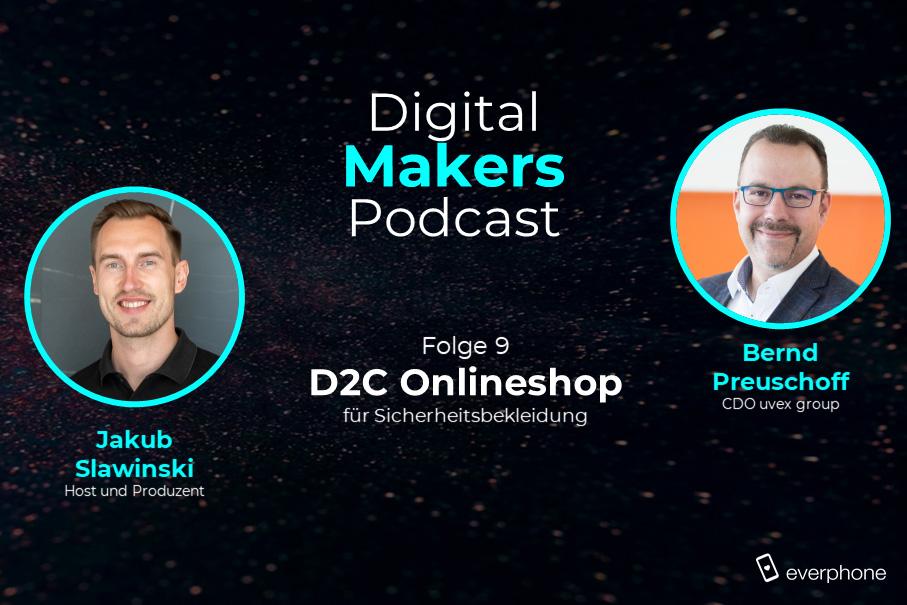 CDO Bernd Preuschoff (Uvex) im Podcast-Interview