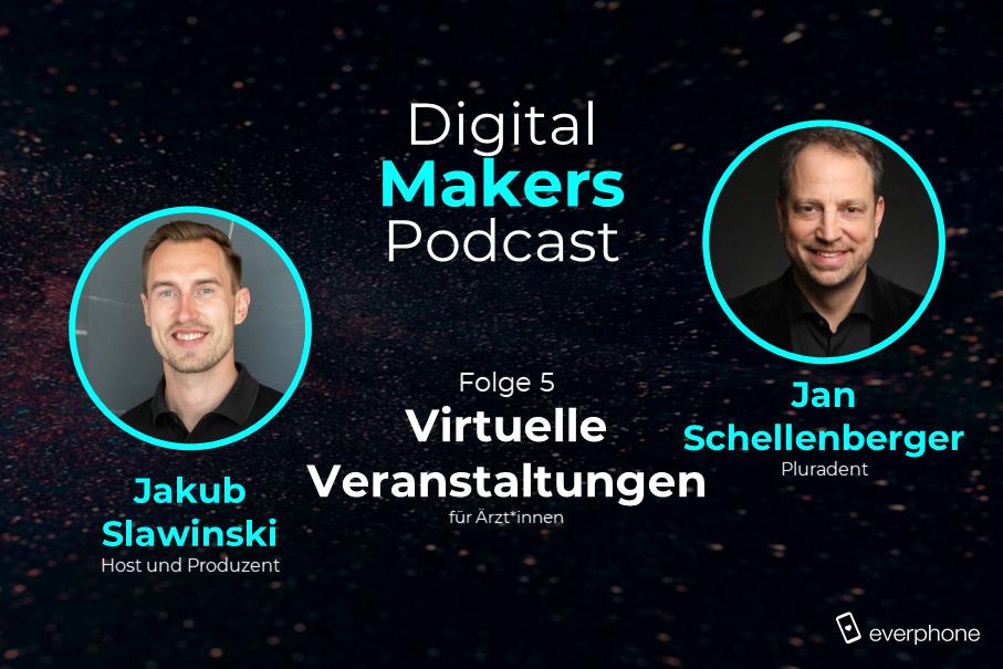 Podcast: virtuelle Fortbildungen und Messen (Jan Schellenberger)