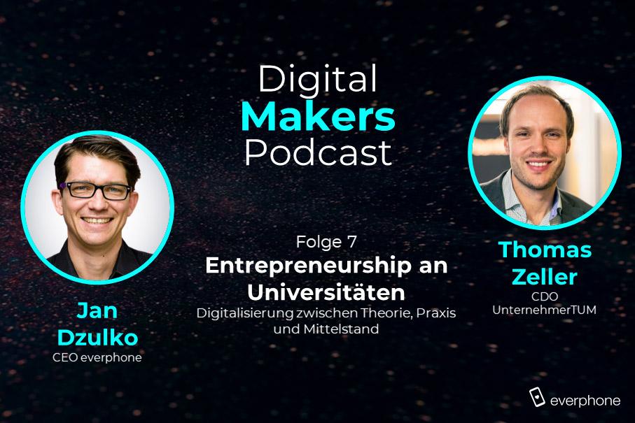 Digital Makers: Thomas Zeller (UnternehmerTUM)