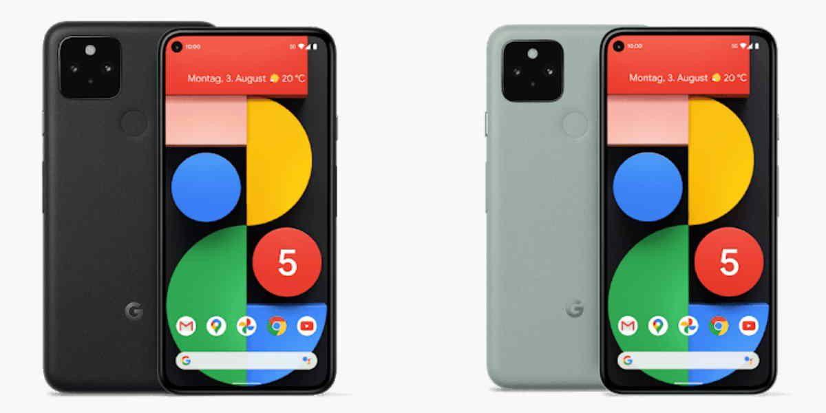 Google Pixel 5 und Pixel 4a (4G) jetzt als Mietgeräte verfügbar