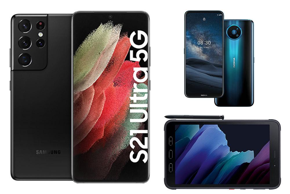Großes Portfolio-Update: neue Android-Geräte und iPods