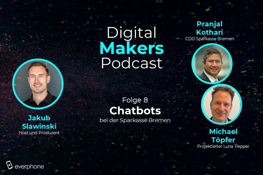 Chatbots im Bankensektor: Sparkasse Bremen (Podcast)